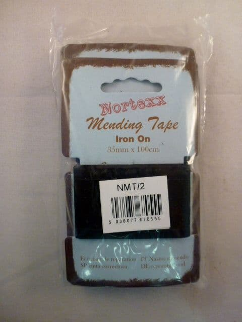 Iron On Mending Tape 5 cards per pack